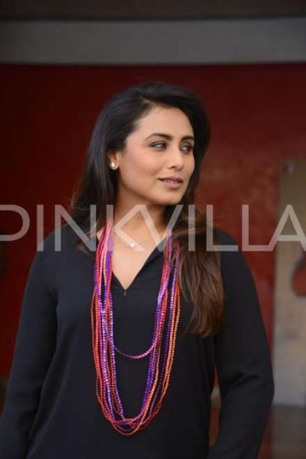 Pinkvilla:Rani Mukerji is busy promoting her upcoming film Hichki. The film is her comeback vehicle post her