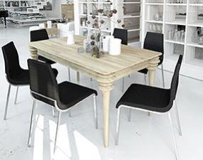 Stół PARIS z rozsuwanym blatem