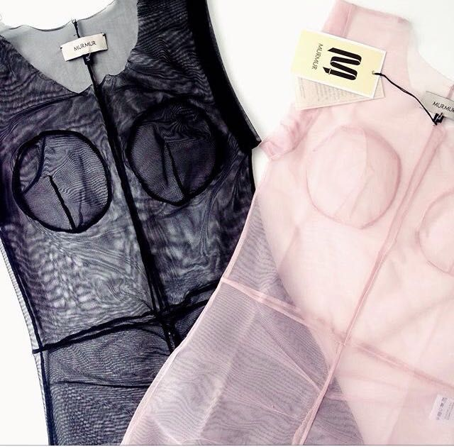 Get these see-through bodysuits for a playful Summer. Now with 50% discount. http://www.murmurstore.com/product/babe-bodysuit-simple/