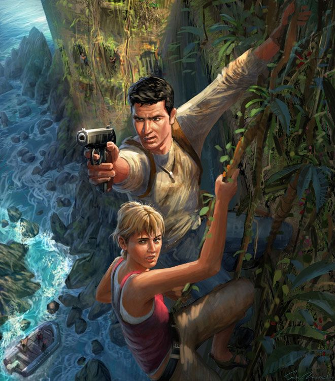 Nathan Drake & Elena Fisher from Uncharted: Drake's Fortune