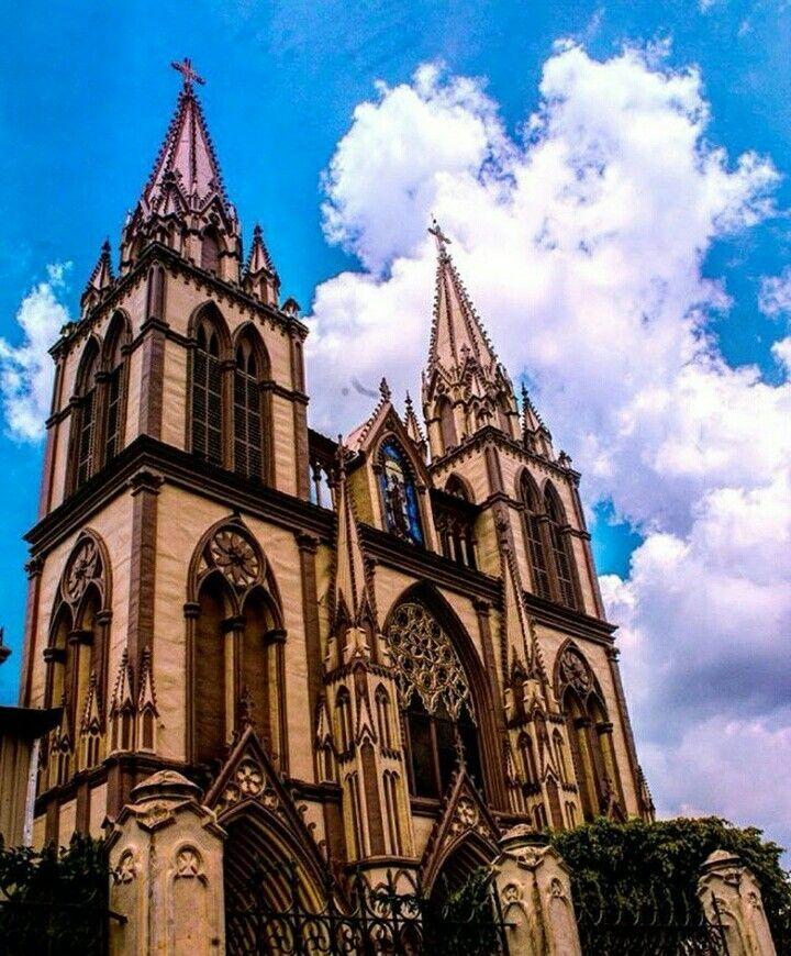 Iglesia de El Carmen.  Santa Tecla,  La Libertad.  El Salvador,  Centro América.