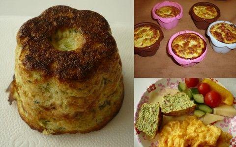 Paleo slané muffiny