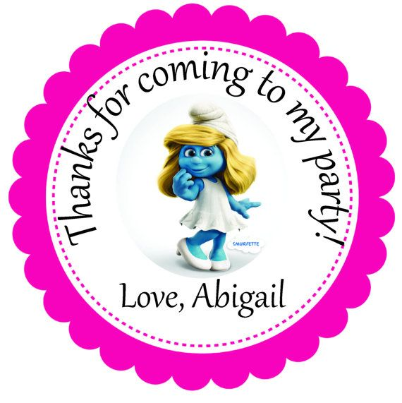 56 Best Smurf Baby Shower Images On Pinterest