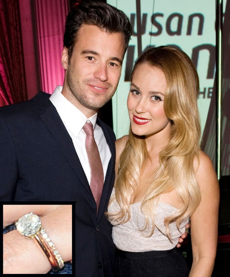 Lauren Conrad and William Tell  - from InStyle.com