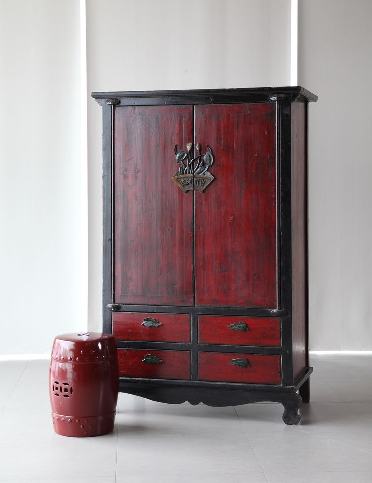 Incorporate some traditional vibes to your home with this antique wardrobe, and create a cosy environment. #WTPStyle #storage #home #decorate #homedecor #furniture #antique #closet #livingroom #bedroom