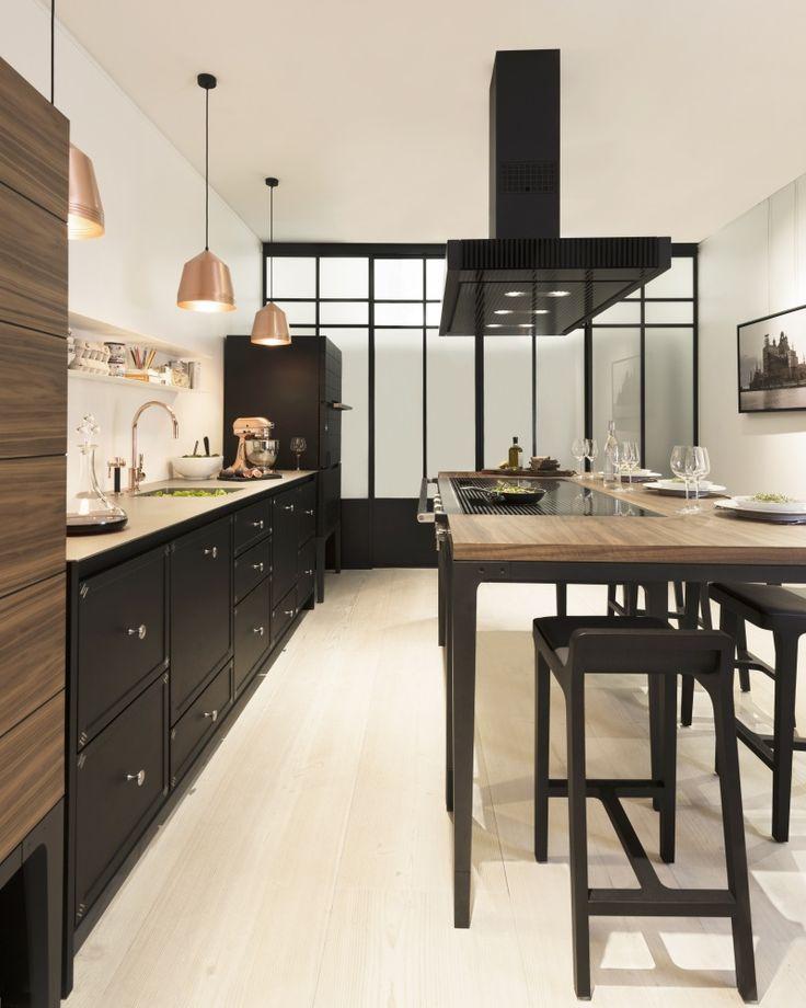 les 25 meilleures id es concernant la cornue sur pinterest cuisines blanches noires cuisine. Black Bedroom Furniture Sets. Home Design Ideas