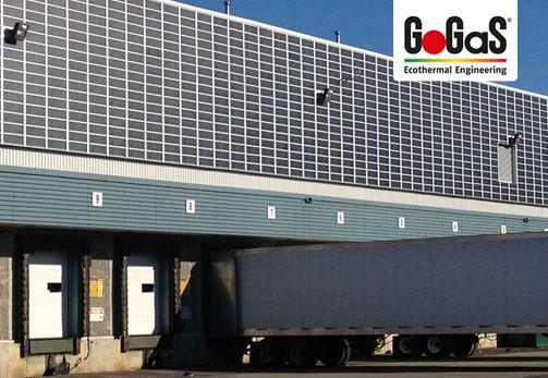 GoGaS Solar-Luftsystem LUBI Wall: Einfache und schnelle Montage, problemlos nachrüstbar und wartungsfrei. Weitere Informationen erhalten Sie unter www.gasstrahler.de oder unter www.solar-luftkollektoren.com.