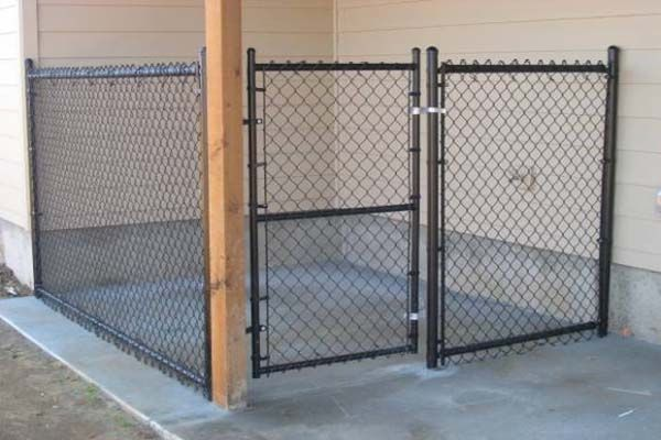How to Build a Dog Kennel Other Chainlink