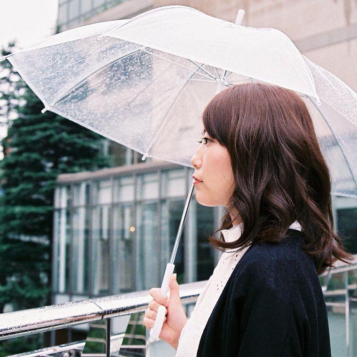 Snap in rainy day 2! #ヘアカラー #haircolor  #snap #rain #雨 #東中野