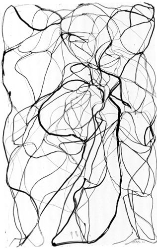 Brice Marden, Aphrodite, 1992 | INIGOSCOUT.com, blankets, abstract art, craft, cabins, ski chalet, freedom