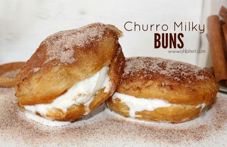 ~Churro Milky Buns! | Oh Bite It