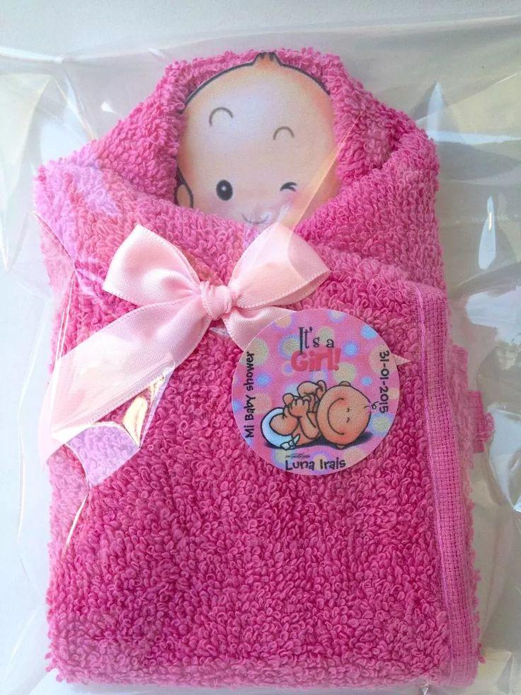 bebé  baby shower recuerdo economicos bautizo toalla premio