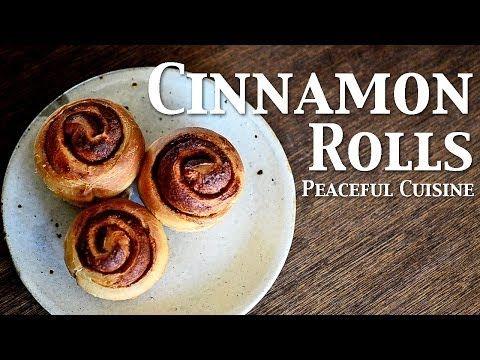 Cinnamon Rolls (vegan) ☆ シナモンロール - YouTube