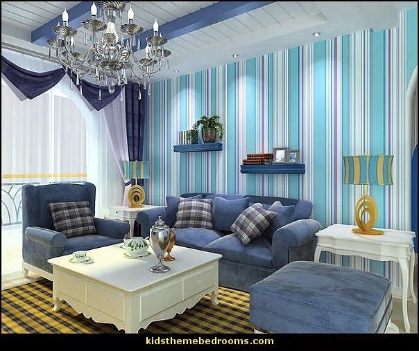 Beach Style Decorating Ideas | Beach Nautical Style Decorating Ideas Theme  Bedrooms (Wallpaper,