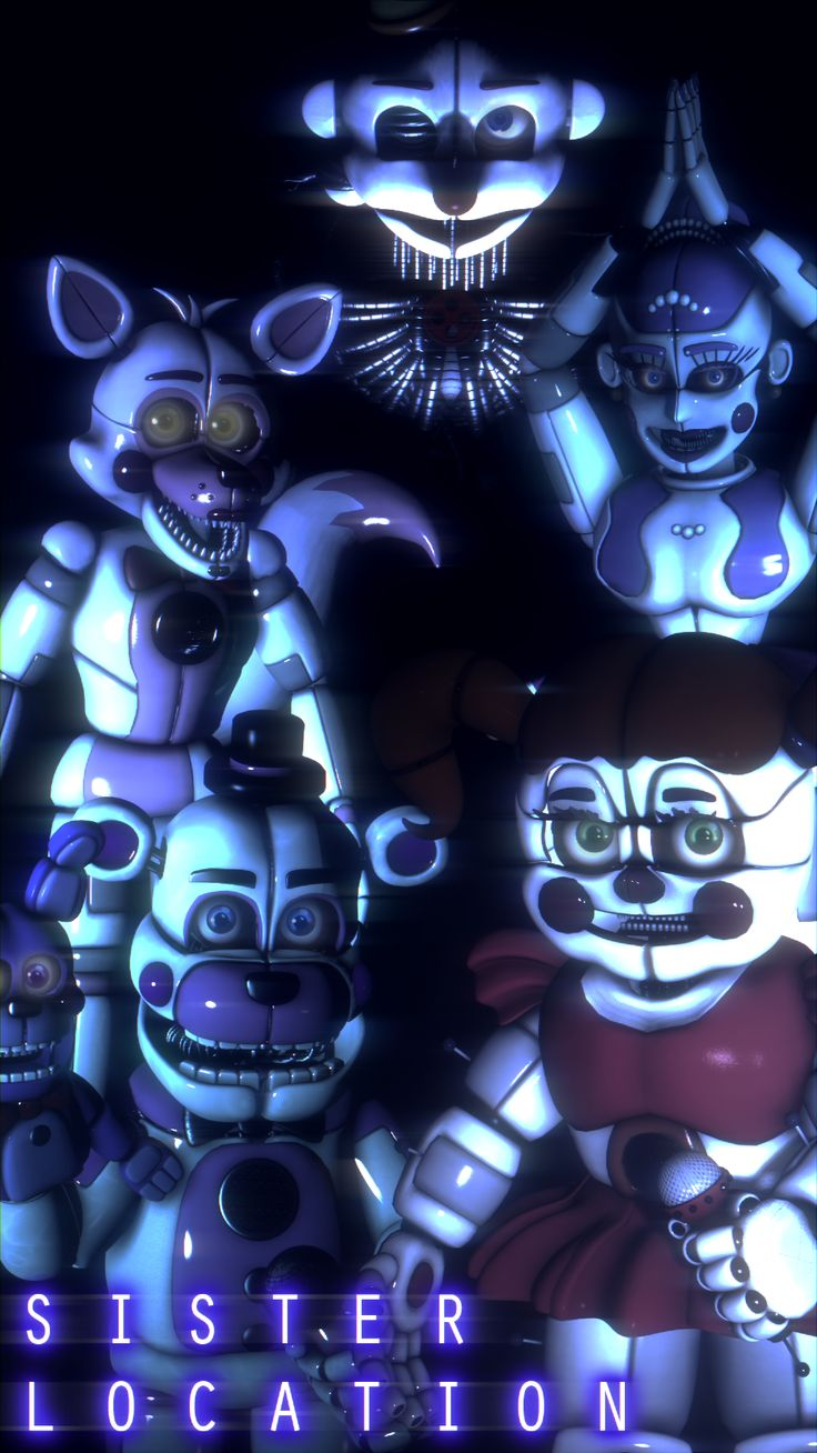"Sister Location SFM Poster ""Its Time To Play"""