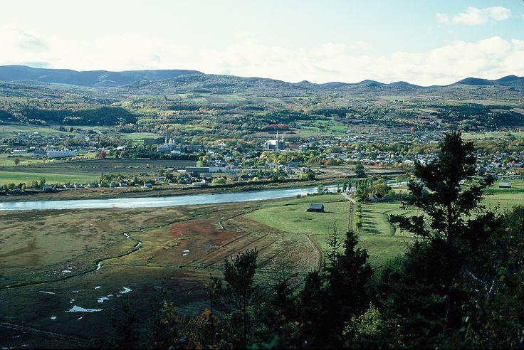 Vue de Cap-aux-Corbeaux - Baie-Saint-Paul