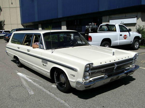 plymouth fury III wagon 1965 a