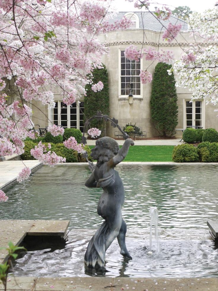 Best 25 french provincial home ideas on pinterest for Home water feature landscaping
