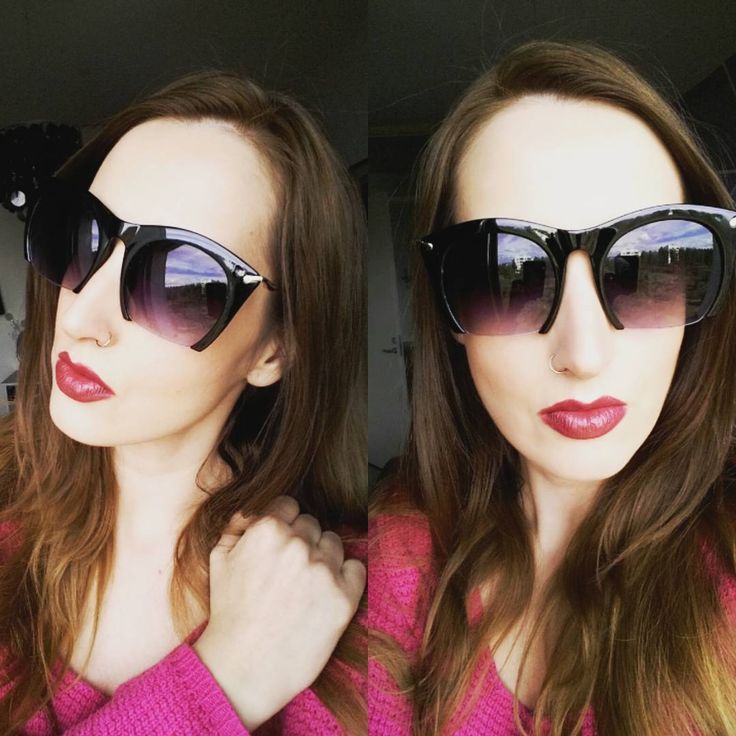 #outfit #fashion #blogger #style #fotd #ootf  sunglasses, dark lips