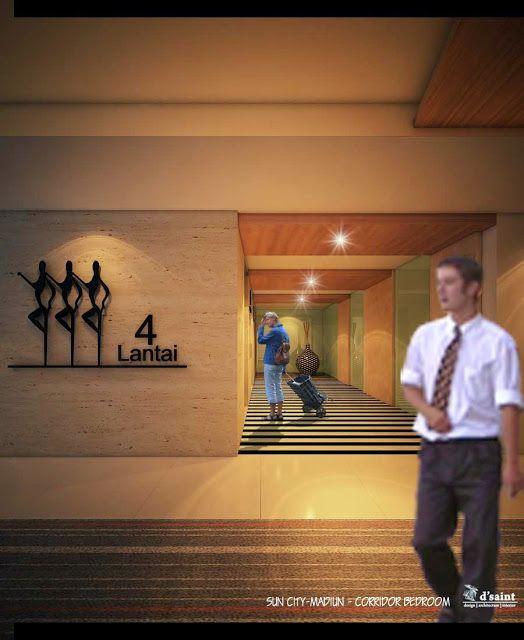 GRAHA MITRA ABADI: Korridor Design Suncity Hotel