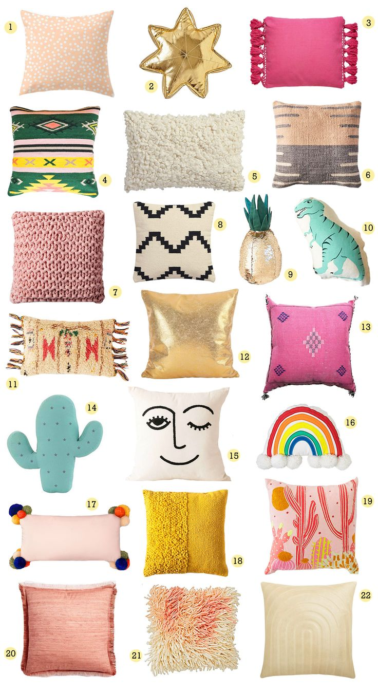 We spy our #OhJoyForTarget rectangle pom pom pillow! / A Beautiful Mess