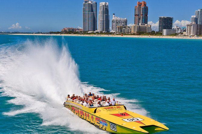 Visita Turistica En Lancha Motora Por Miami Miami Tour Boat Tours Sightseeing