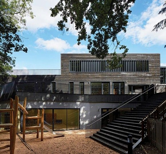 Davenies School wins RIBA South Award Photo © Dennis Gilbert