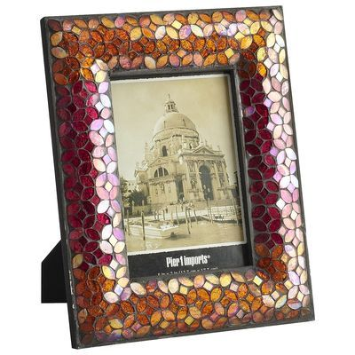 Bright Mosaic Glass 5x7 Frame