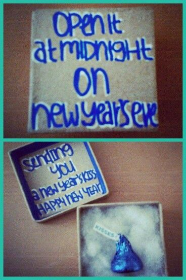 I want to do this for my missionary since we'll be apart one more New Years :)
