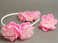 Komplet pudrowy róż