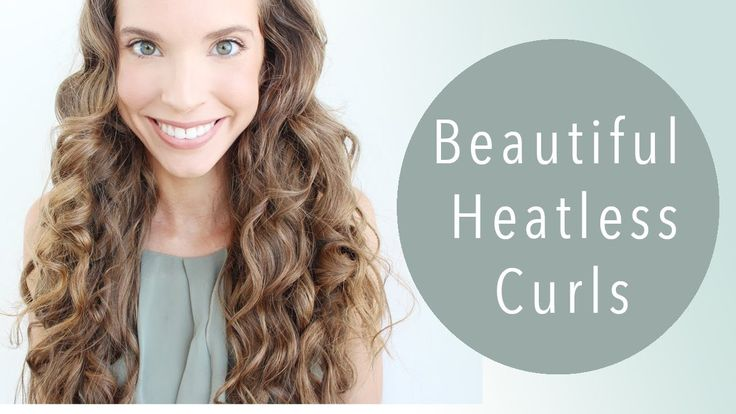 HOW TO: HEATLESS CURLS! (With flexi rods)