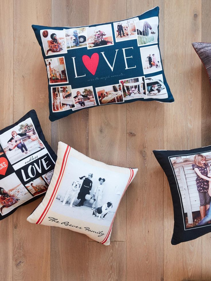 Turn your photos into home decor with custom pillows our pillows add a cozy