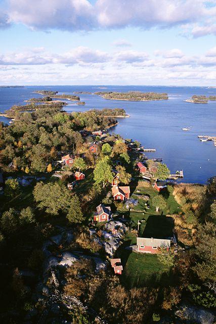 Tha archipelago of Stockholm.  Johnér