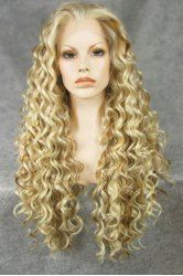 SHARE & Get it FREE | Fashionable Highlights Fluffy Synthetic Long Jerry Curly Heat Resistant Lace Front Wig For WomenFor Fashion Lovers only:80,000+ Items • New Arrivals Daily • Affordable Casual to Chic for Every Occasion Join Sammydress: Get YOUR $50 NOW!
