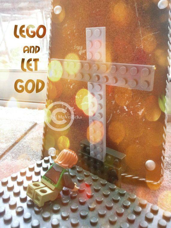 Lego and Let God Christian Wall Decor by RaisingMavericks on Etsy