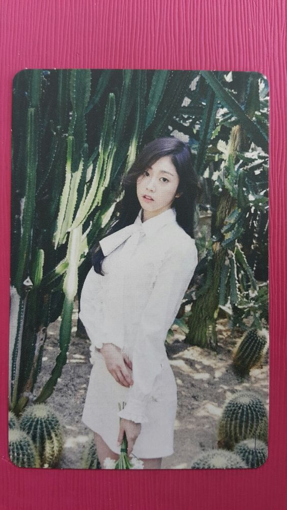 LOVELYZ JISOO Official Photocard #2 A NEW TRILOGY 2nd Album GRAVITY 지수
