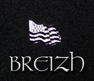 Drapeau BRETON Hermine BRETAGNE