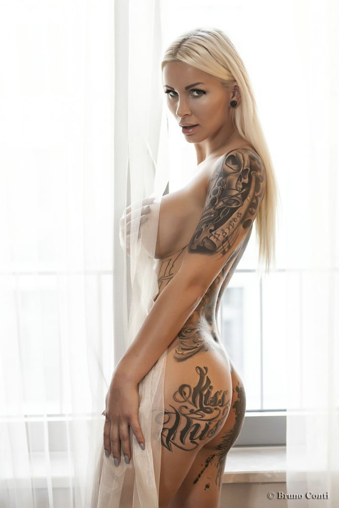 Beautiful inked nude women #3