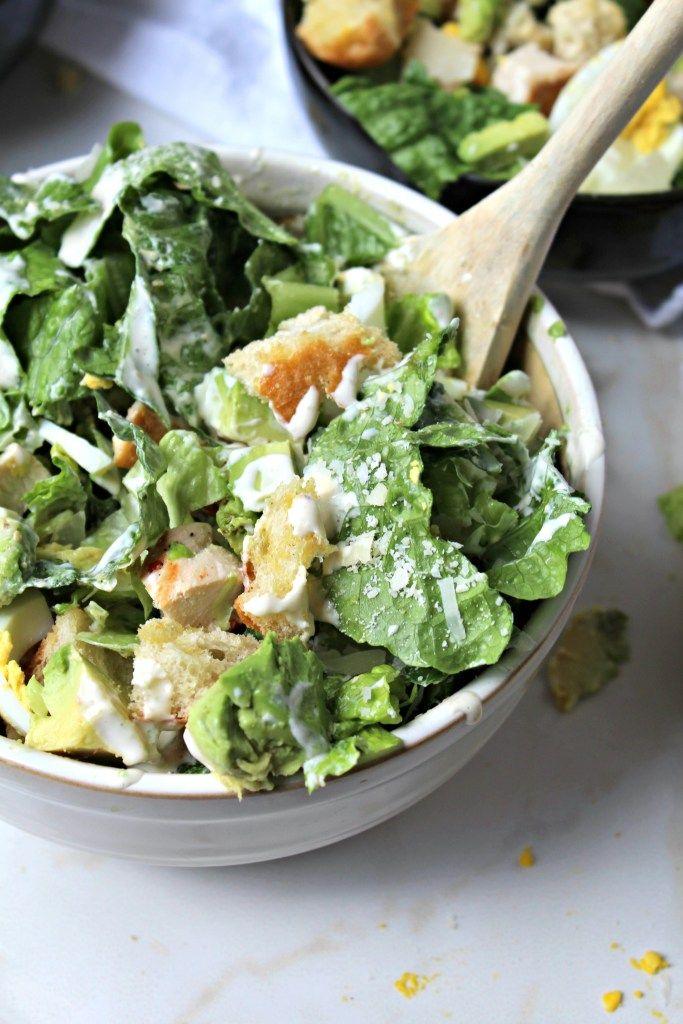 Grilled Chicken Caesar Salad - The Secret Ingredient [is love]