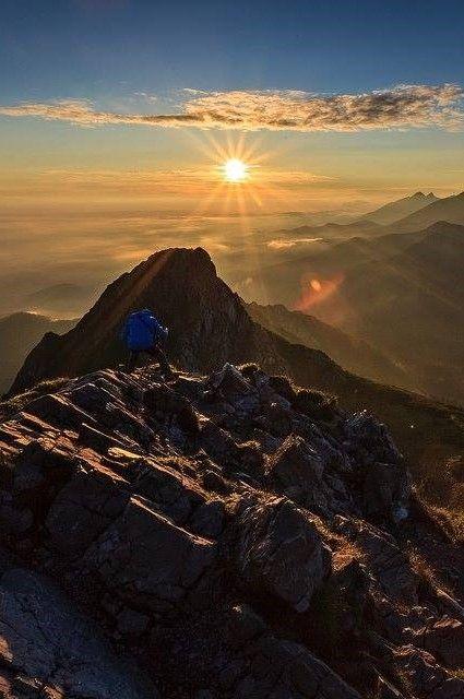 Sunrise Giewont- Poland