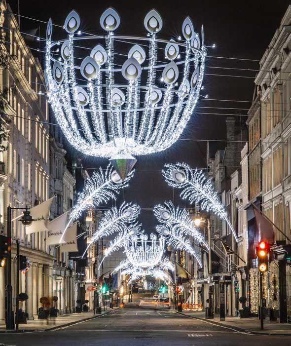 Bond Street's Christmas lights (London)