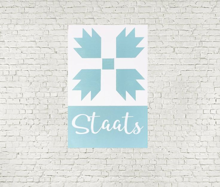 Personalized Sign, Home and Living, Home Decor, Wall Hanging, Barn Quilt Pattern, Family Name, Personalized Name, Housewarming Gift by HeySweetly on Etsy