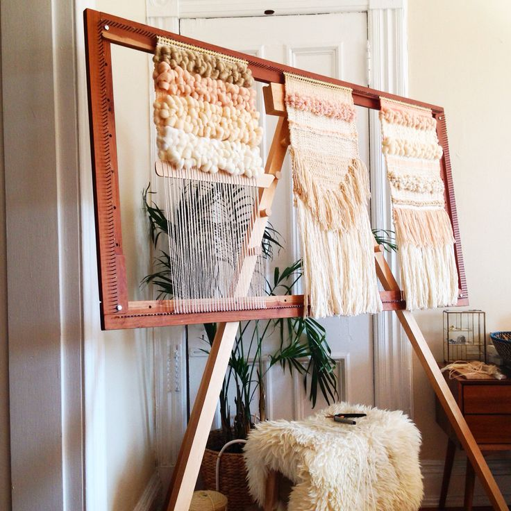 ++ Weaving woven wall hanging tapestry by Maryanne Moodie. Www.maryannemoodie.com