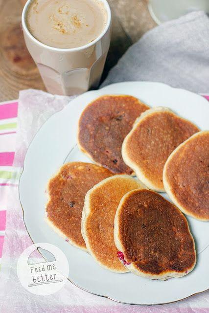 Feed Me Better: Najlepsze placki proteinowe (ricotta pancakes).