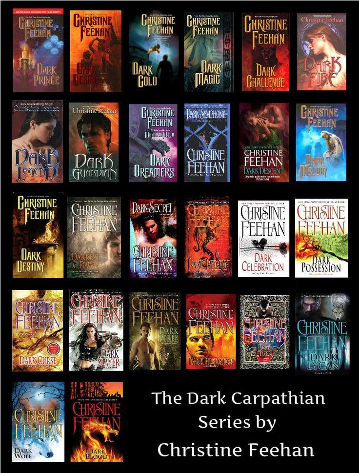 Dark Carpathian Series by Christine Feehan: http://www.thereadingcafe.com/dark-lycan-dark-carpathian-24-by-christine-feehan-a-dual-review/