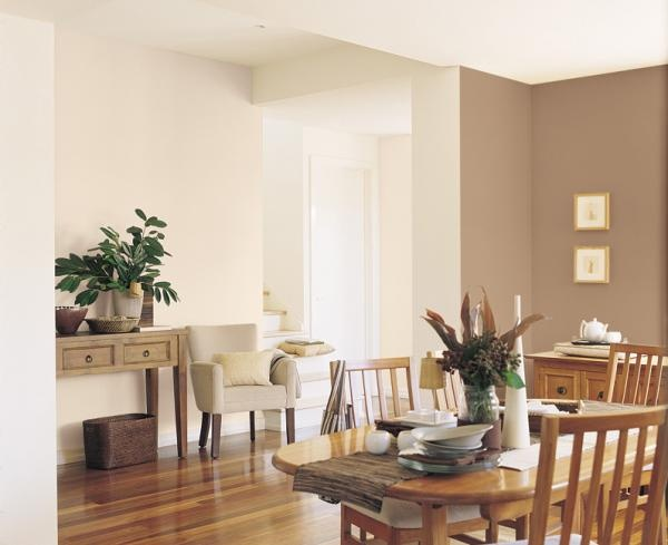 Love the warm neutrals project gallery dulux dining for Warm neutral paint colors for dining room