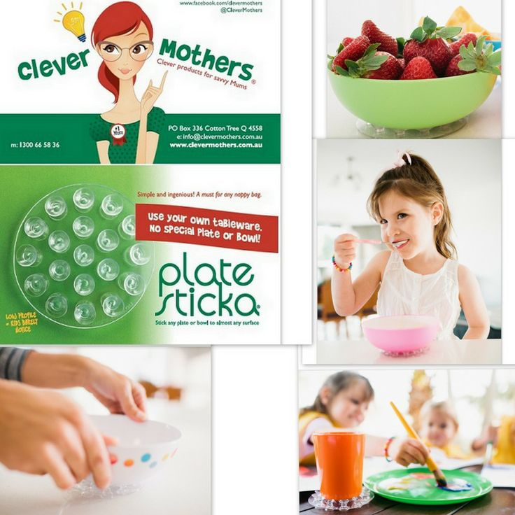 Plate Sticka from Clever Mothers, featured product at Baby Best Bargains each month!