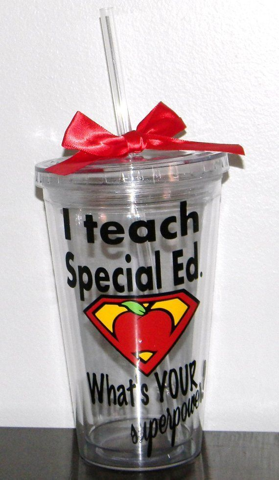 Special Ed Teacher Gift Education Gifts Autism Awareness Sup