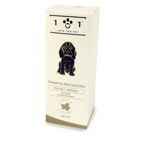 SHAMPOO per CUCCIOLI e Pelli Sensibili | Linea 101 pH 5.5 Delicato e Nutritivo per cane cani cucciolo