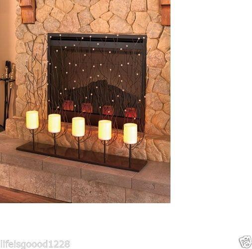 Best 25 Modern fireplace screen ideas only on Pinterest